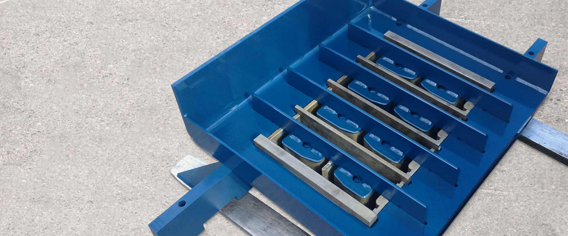 Molds and Mold Parts for the Concrete Block Industry