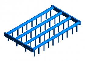 Round Finger Agitator Grid