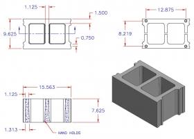 D10816-1224 Square Core Stretcher