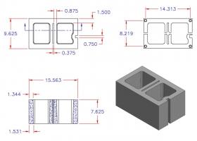 D10816-1533 Square Core Left Hand
