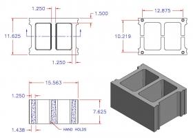 D12816-1248 Square Core Stretcher