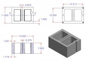 D12816-1544 Square Core Right Hand