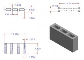 D4816-1106 3 Core Plain End