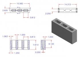 D4816-1107 3 Core Plain End