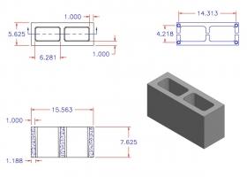D6816-1102 Square Core Plain End