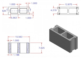 D6816-1237 Square Core Stretcher