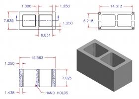 D8816-1101 Square Core Plain End