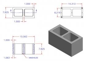 D8816-1108 Square Core Plain End