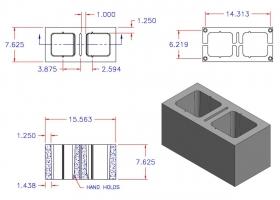 D8816-1933 Square Core