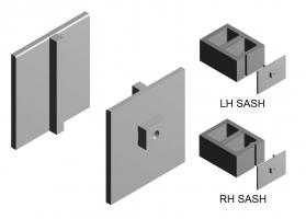 Steel Sash Endliners