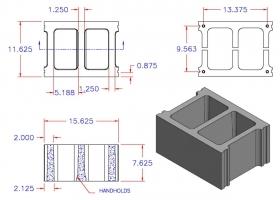 DC12816-1210 Square Core Stretcher