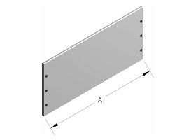 Model 1600 Outside Partition Plate